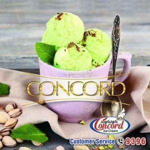 Concord Ice Cream  اللاذقية  يبرود   ريف دمشق