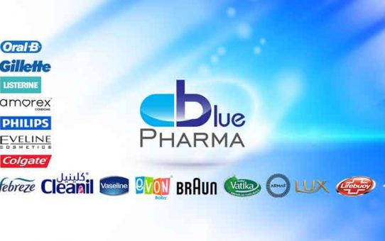 Bluepharma drug store   حمص